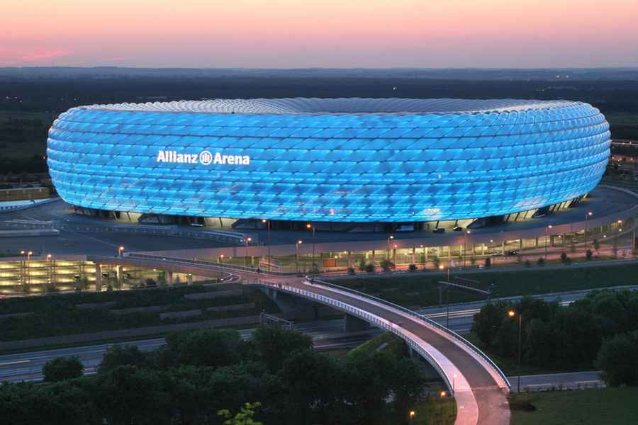 Bayern stadion – 2016